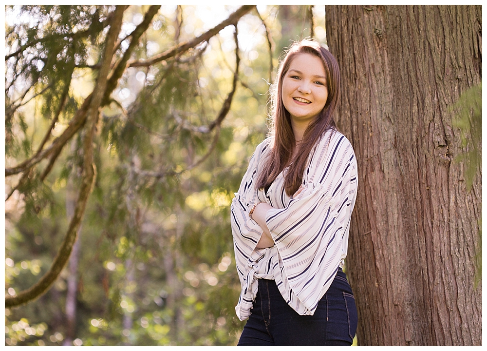 Affordable senior photos in Bellingham, WA