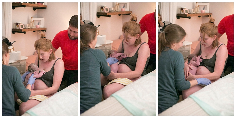 Bellingham birth photographer Renee Bergeron captures a beautiful homebirth.