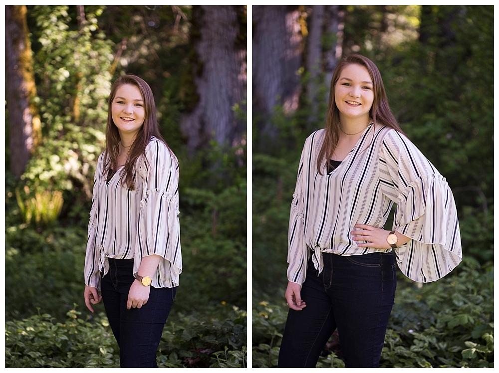 Senior photos in Bellingham, WA