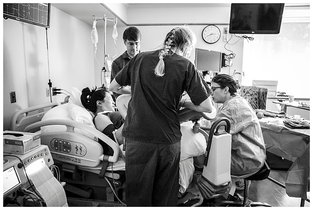 Bellingham birth photography by Little Earthling Photography.