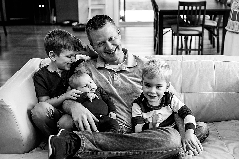 It's all boys all the time for this family. Bellingham lifestyle photography.