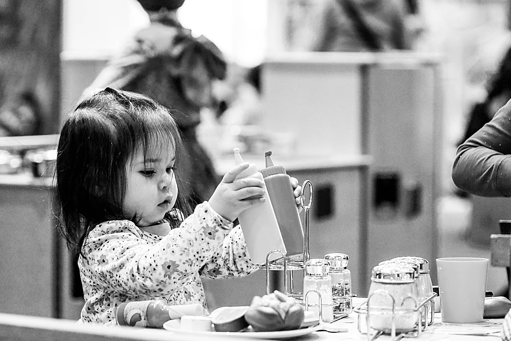 Erin enjoys playing at a local children's museum. Urban milestone sessions lets me capture your family's favorite hang-outs.