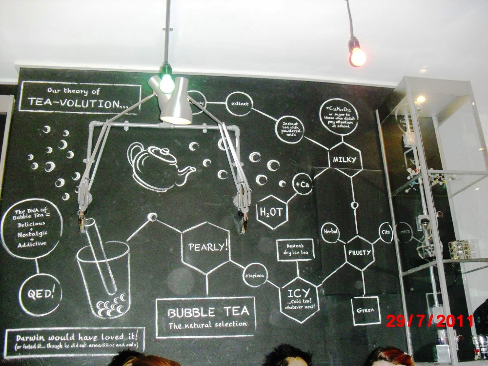 Bubbleology: the theory of tea-volution (2/2)