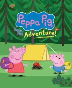 Peppa Pig poster for show at Hull New Theatre.