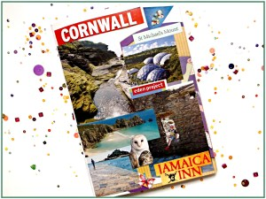 Photo Souvenirs - Scrap book of Cornwall.
