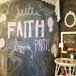 Little Faith Book Party!