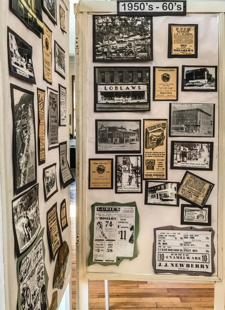 Urban Renewal Exhibit Little Falls Historical Society Museum   Little Falls NY