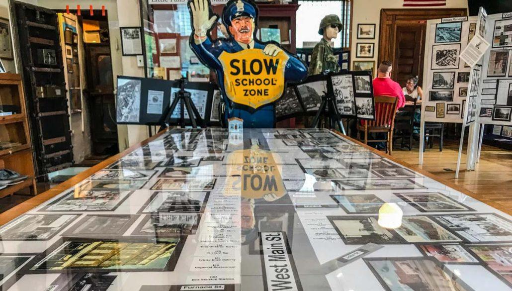 Urban Renewal Exhibit   Little Falls Historical Society Museum