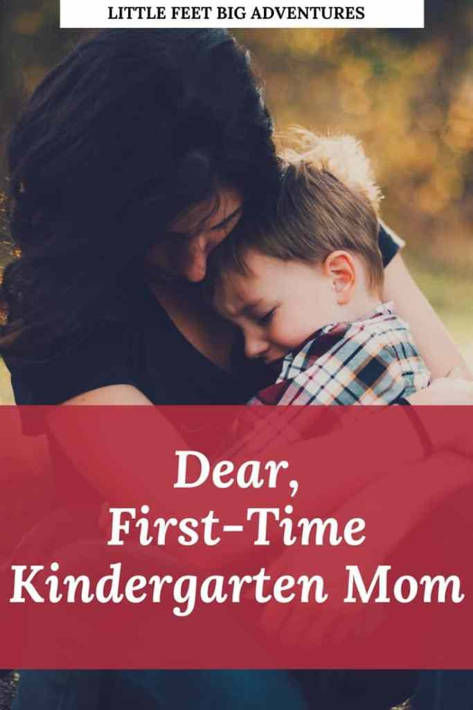 First time kindergarten mom, you're going to be ok. It's so hard to let go.