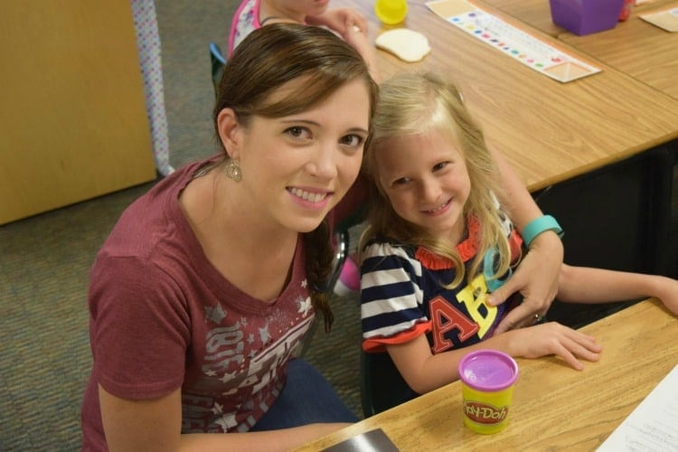 First day of school can be very hard for kindergarten moms