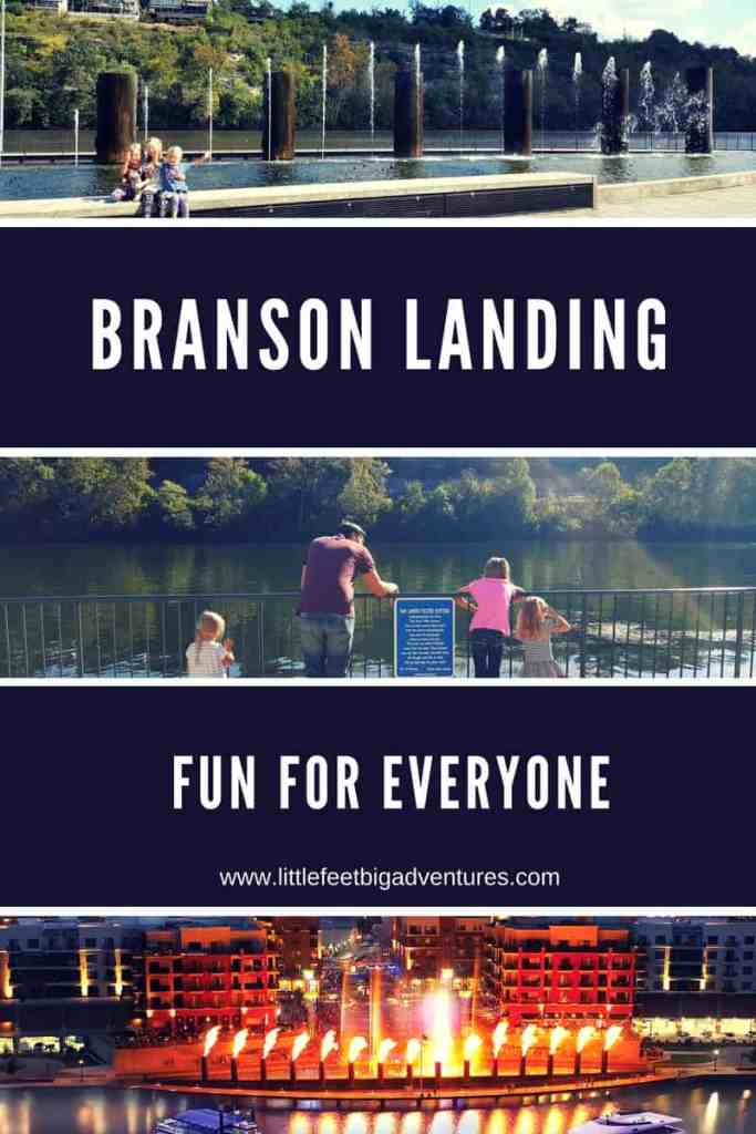 The Branson Landing in Missouri is fun for the entire family. See why you will want to visit on your next trip to Branson, Missouri