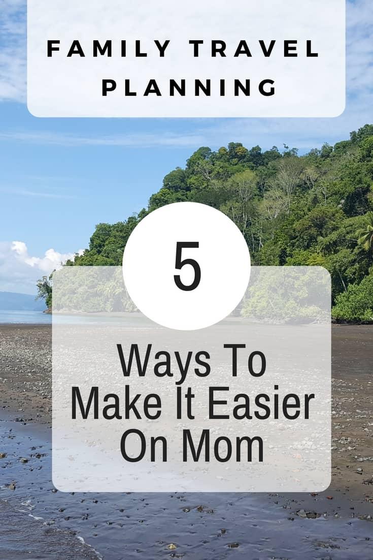 family travel planning making travel plans