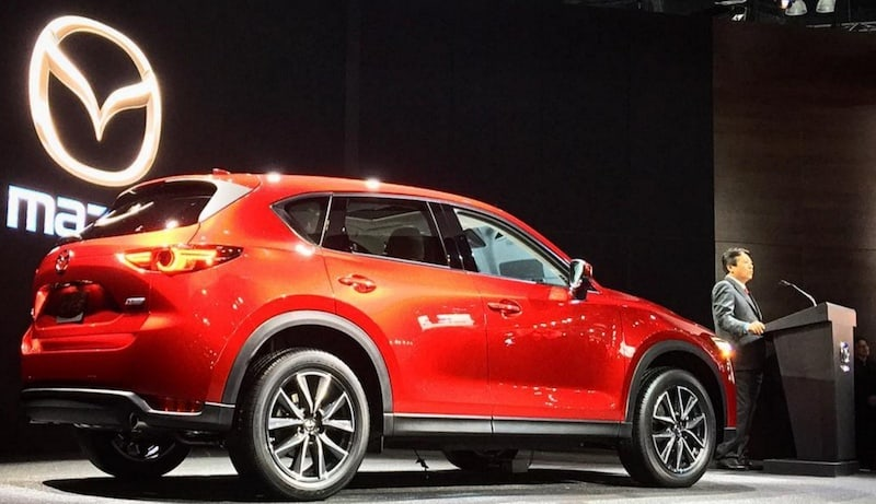 Marvel over vehicles like the Mazda CX-5 at the DFW Auto Show