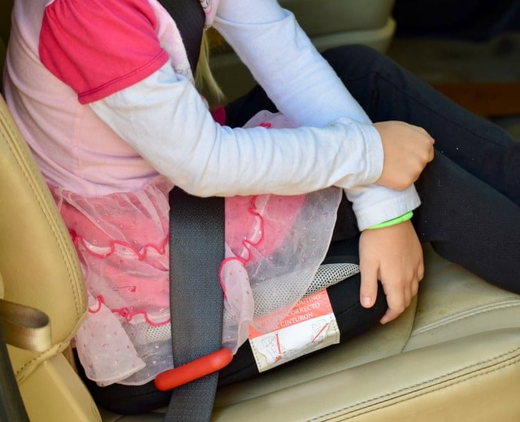 The BubbleBum car seat is ideal for any family who travels.
