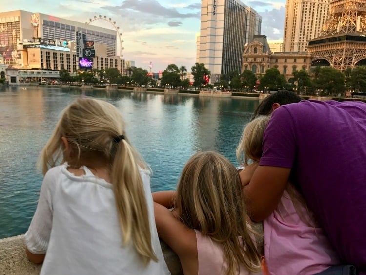 Visiting Vegas with kids is possible. Plan well and prepare for the big city.