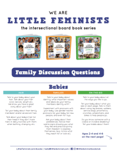 Discussion Questions for We Are Little Feminists