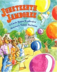 Juneteenth best book picks: juneteenth jamboree book cover