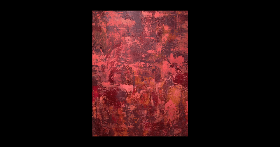 """""""Unquestioning"""" by Carolyn Moore vertical view"""
