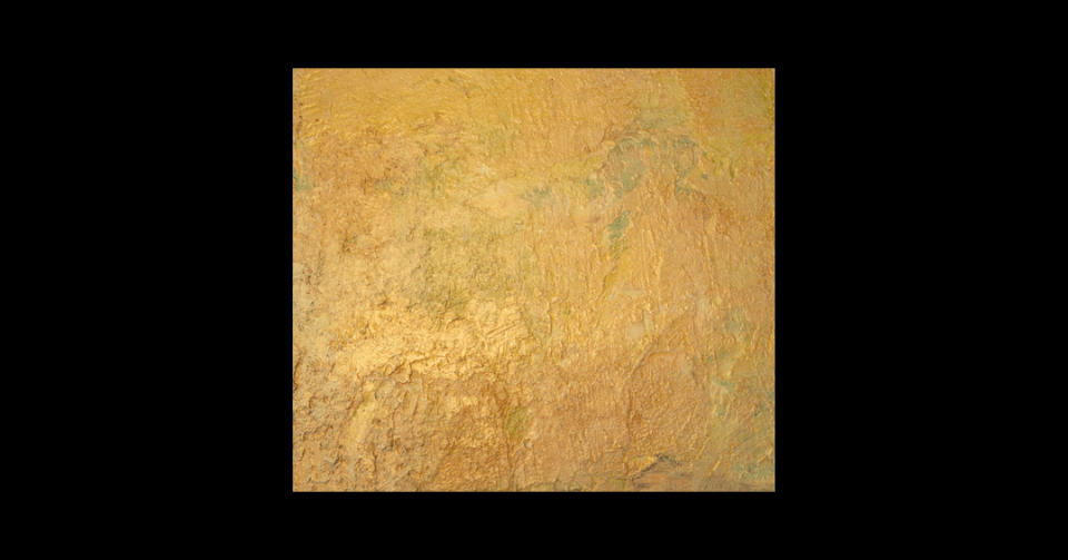 celebration gold abstract painting horizontal view