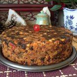 3 ingredient Christmas Cake