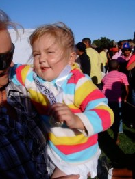 CANSA Relay for Life for Survivors June 2010 - Proud of her Medal