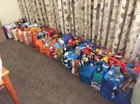 Bags of Hope ready to go