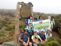 Kili National Park Marker