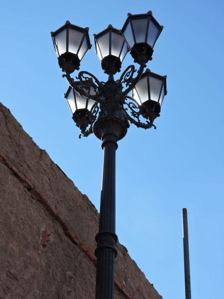 Outside the walled Medina of Marrakech