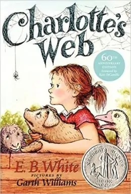Charlotte's Web by E. B. White and Garth Williams - Books for Ages 7 to 8