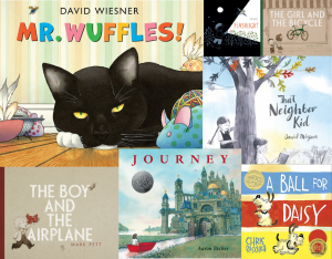 wordless picture books in our subscription boxes