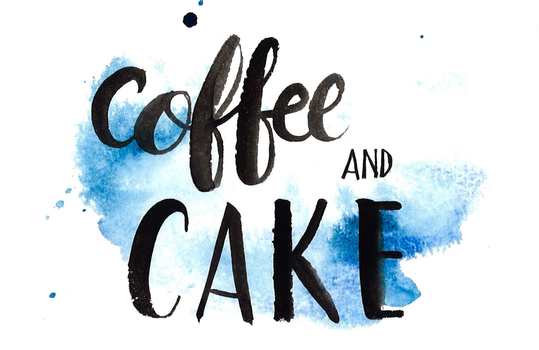 Coffee & cake image