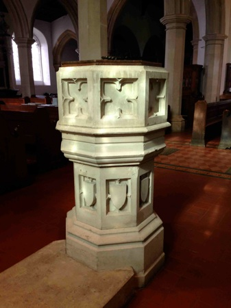 Photo of font
