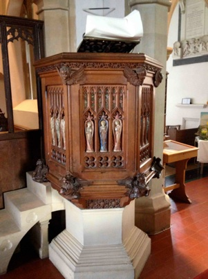 Photo of pulpit