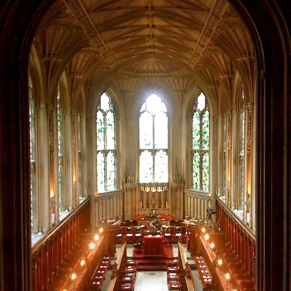 Photo of Ashridge Chapel interior