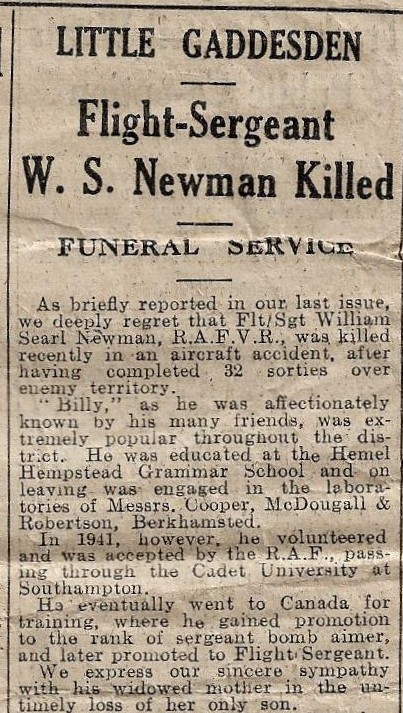 Image of Gazette report of funeral part 1