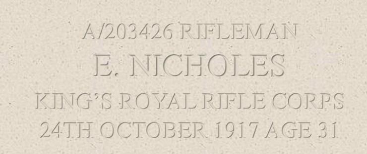 Ernest Nicholes Header section