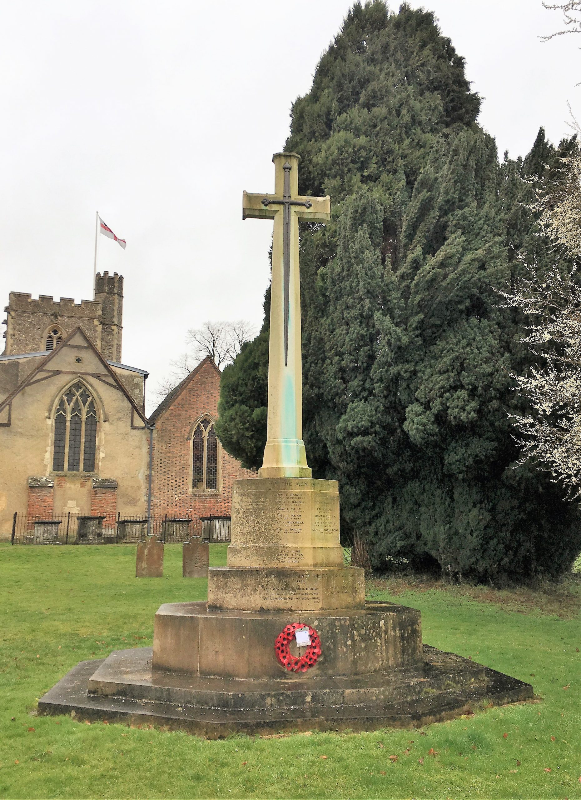 Photo of Great Gaddesden's war memorial