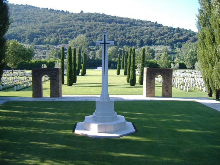 Photo of CWGC Florence War Cemetery