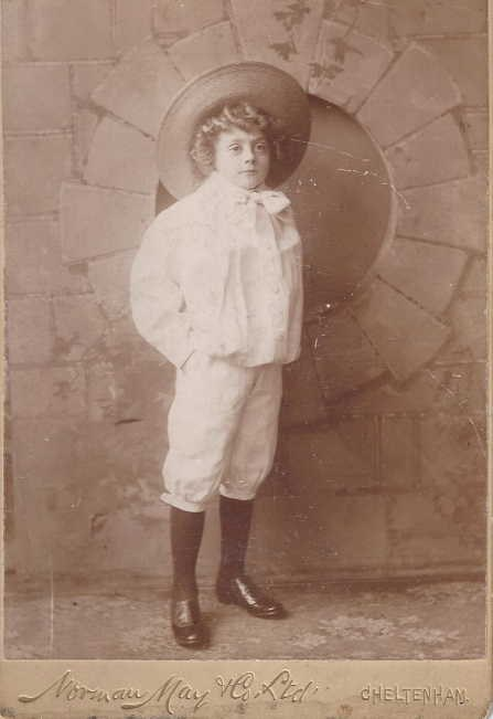 Photo of Arthur Gibson aged 6