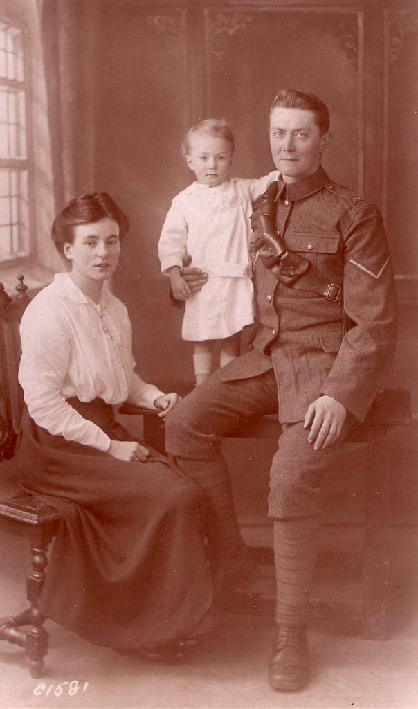 Photo of Herbert and Nellie Flowers with their son Ron