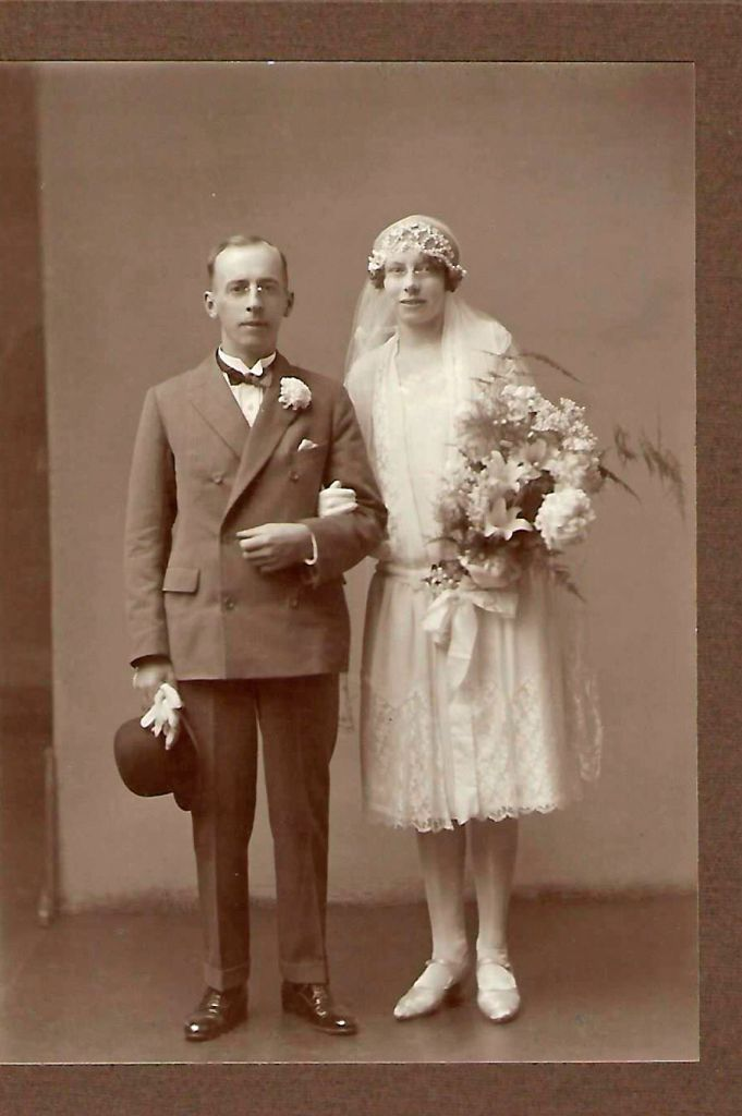 Photo of Oliver and Florence Gentle on their Wedding Day