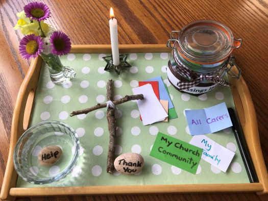 Photo of Prayer Station Tray