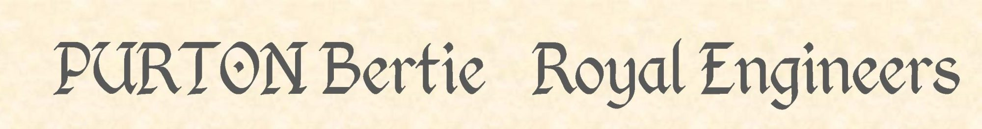 Bertie Purton header