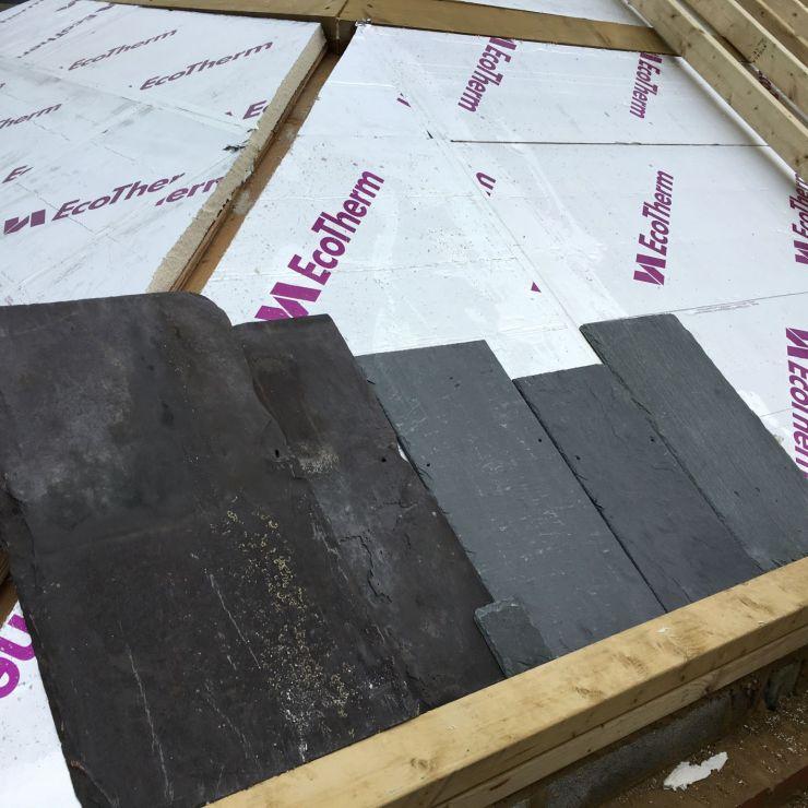 Photo of roof slates