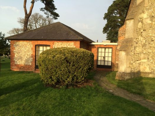 Photo of the old vestry