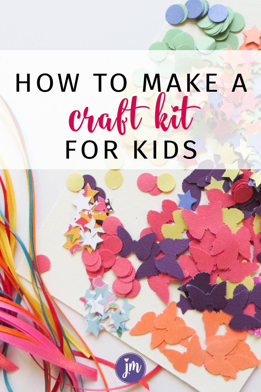 I'm a big fan of craft kits because you can customize them to the individual and DIYing your own is less expensive than buying them premade too! I share how I made a craft kit for my nieces and nephew and give tips for making your own unique gift. #craftsforkids