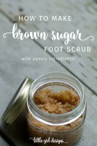 Brown Sugar Foot Scrub
