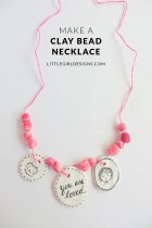 Make a Clay Necklace