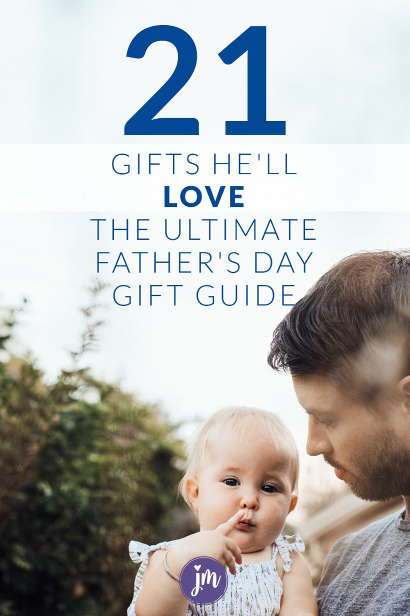 Yes to Father's Day Gifts that aren't lame! This gift guide is a breath of fresh air...Yes, it includes gifts that kids can make, but I promise, he'll like them. (The gifts and the kids.)