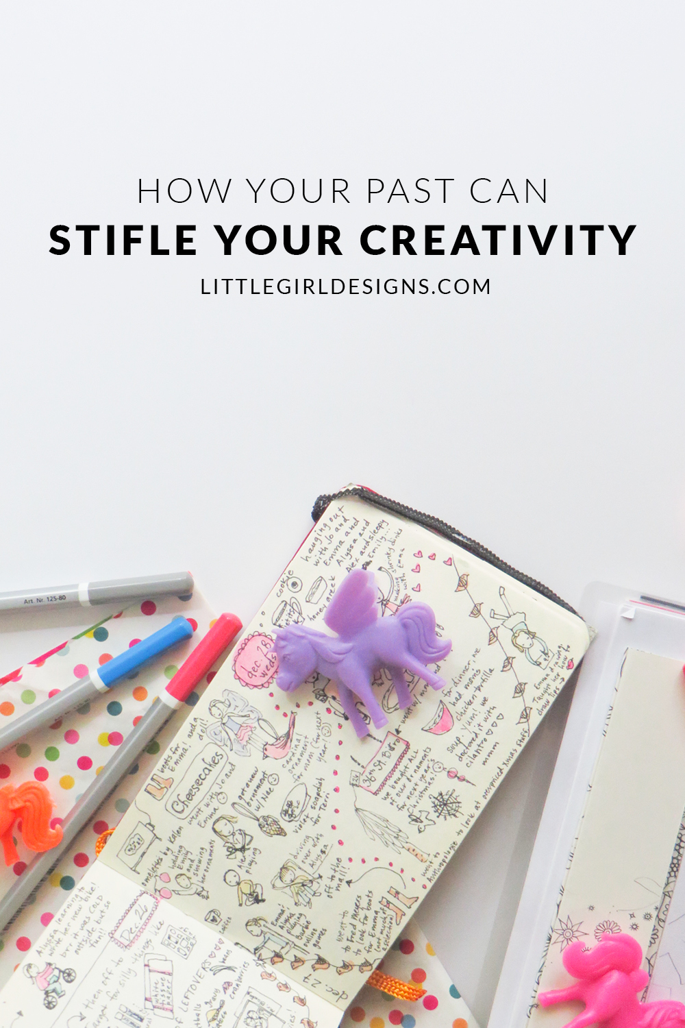 How Your Past Can Stifle Your Creativity - Some of the thought processes and habits we have actually keep us from being creative. I found that when my favorite way to create didn't work anymore, I was so frustrated. Judging from the emails I receive from readers, I'm not alone! Hopefully, these thoughts will encourage you to reassess your creative life and enjoy it again. :) @ littlegirldesigns.com
